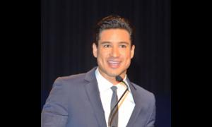 Master of Ceremonies, Mario Lopez.