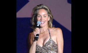 Celebrity Auctioneer Sharon Stone