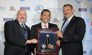 Paul Weber, Mayor Villaraigosa, and Chief Charlie Beck